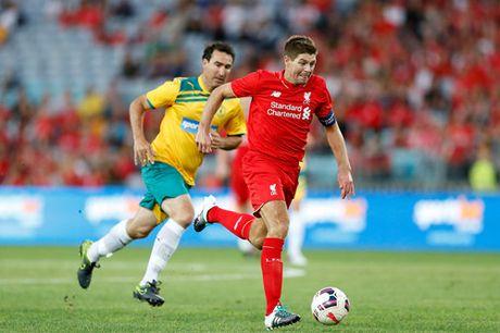 Gerrard: Vi dai o Liverpool nhung chang co gi voi tuyen Anh - Anh 3
