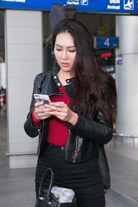 Dieu Ngoc mang hon 100 kg hanh ly toi Miss World 2016 - Anh 2