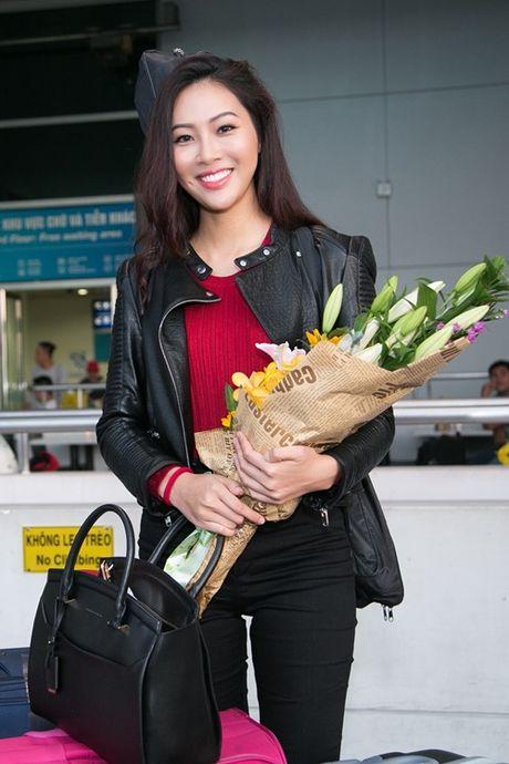 Dieu Ngoc mang hon 100 kg hanh ly toi Miss World 2016 - Anh 4