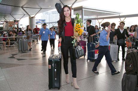 Dieu Ngoc mang hon 100 kg hanh ly toi Miss World 2016 - Anh 6