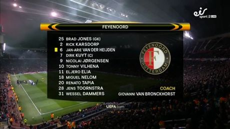 Man United de bep Feyenoord, tien sat vong knock-out - Anh 1