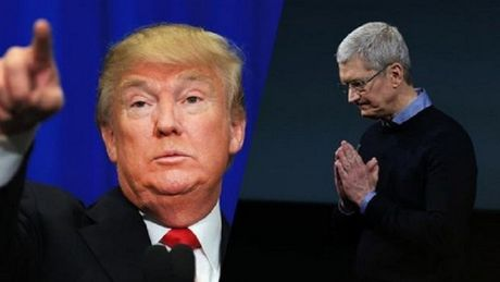 Ong Trump tung chieu du Apple bo Trung Quoc, Viet Nam de ve My - Anh 1