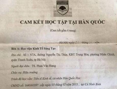 Hoc vien co the kien 'Giao su, tien si chui bay' ra toa vi lua doi - Anh 1