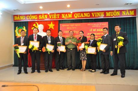 Be giang lop boi duong nghiep vu cho doan can bo Y te Bo Noi vu - Campuchia - Anh 1