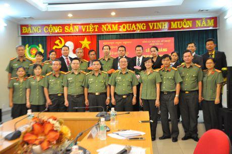 Be giang lop boi duong nghiep vu cho doan can bo Y te Bo Noi vu - Campuchia - Anh 2