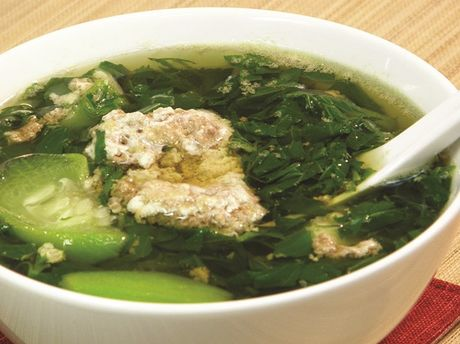 Canh cua rau day: Vi thuoc tot cho suc khoe it nguoi biet - Anh 1