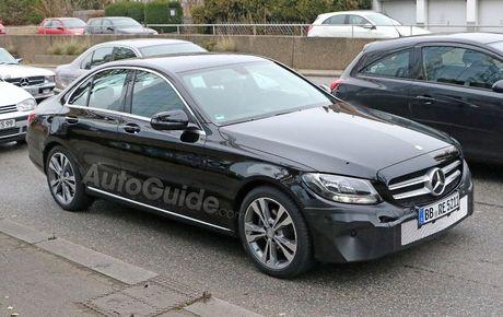 Mercedes-Benz C-Class 2019 lan dau lo dien - Anh 1