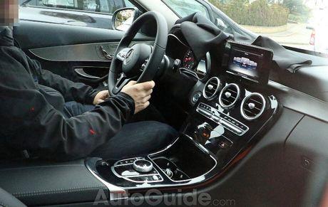 Mercedes-Benz C-Class 2019 lan dau lo dien - Anh 2