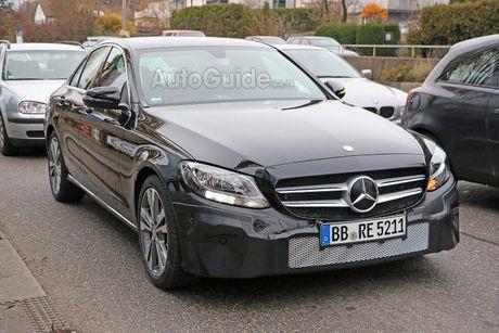 Mercedes-Benz C-Class 2019 lan dau lo dien - Anh 3