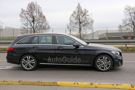 Mercedes-Benz C-Class 2019 lan dau lo dien - Anh 5