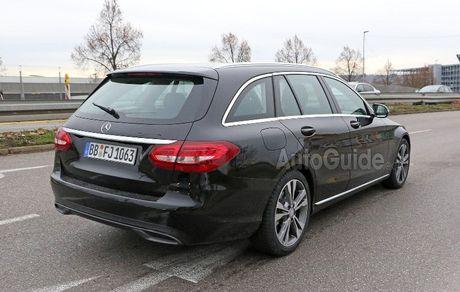 Mercedes-Benz C-Class 2019 lan dau lo dien - Anh 6