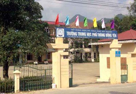 Truong THPT Dong Yen (Bac Quang, Ha Giang): Nhieu sai pham trong thu chi tai chinh - Anh 1