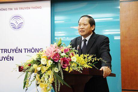 Bo TT&TT ky bien ban thoa thuan hop tac voi Hoc vien Bao chi va Tuyen truyen - Anh 1