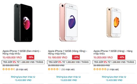 Black Friday: Smartphone trong nuoc giam gia hang loat - Anh 1