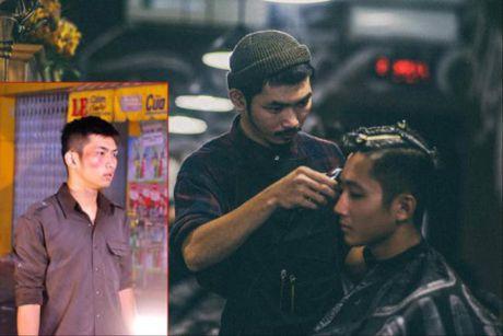 Nam dien vien phim 'Bui doi Cho Lon' hanh nghe cat toc song qua ngay - Anh 1