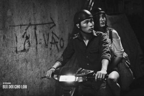 Nam dien vien phim 'Bui doi Cho Lon' hanh nghe cat toc song qua ngay - Anh 4