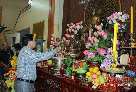 Doan cong tac tinh Nghe An dang huong Chu tich Ho Chi Minh tai Udonthani - Thai Lan - Anh 3