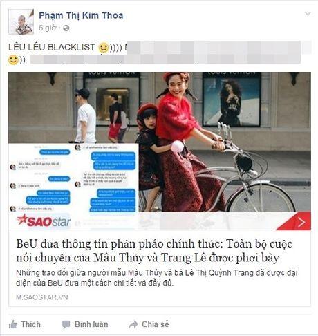 Sau khi BeU phan phao, chan dai Viet 'dai chien' day tho tuc tren Facebook - Anh 1