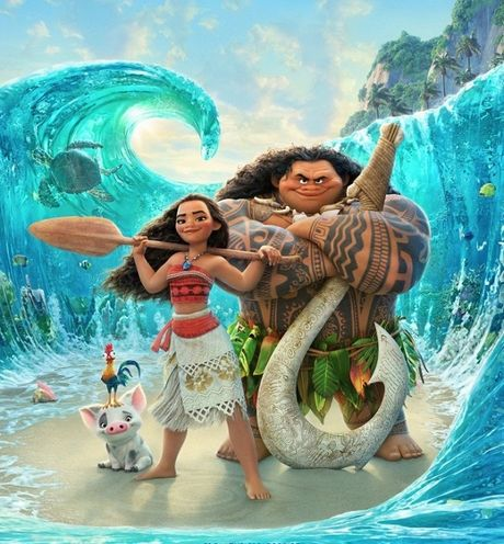 Hoat hinh Disney - 'Nha vua' tro lai va cuoc doi dau noi bo giua Zootopia vs. Moana - Anh 8