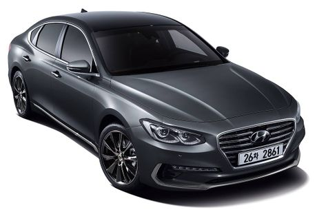 Hyundai tan cong phan khuc sedan cao cap bang Azera moi - Anh 1