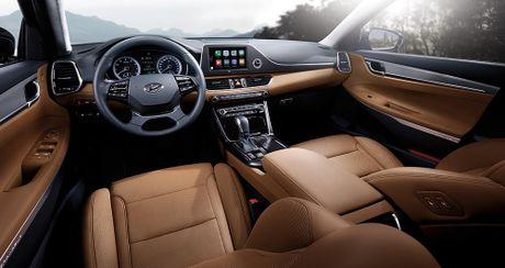 Hyundai tan cong phan khuc sedan cao cap bang Azera moi - Anh 2