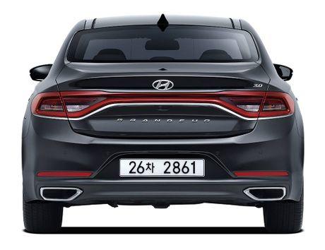 Hyundai tan cong phan khuc sedan cao cap bang Azera moi - Anh 5