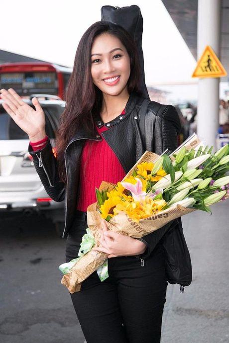 Dieu Ngoc chinh thuc sang My thi Miss World 2016 - Anh 1