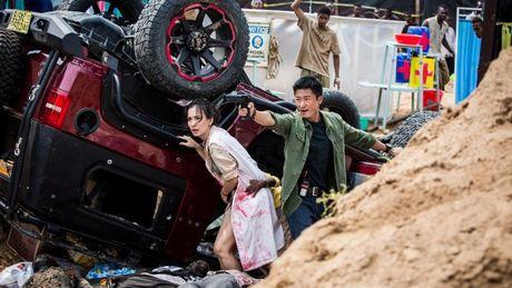 Nu nhi 'Arrow' tham gia 'Chien lang 2' cua Ngo Kinh - Anh 2