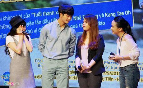 Khoanh khac Kang Tae Oh than thiet voi fan Viet - Anh 9
