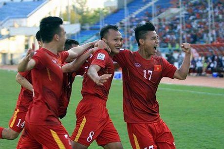 Thai Lan bat kip tuyen Viet Nam tren bang xep hang FIFA - Anh 1