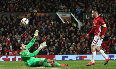 DIEM NHAN Man United – Feyenoord: Old Trafford van la diem tua. Them ky luc nua cho Rooney - Anh 3