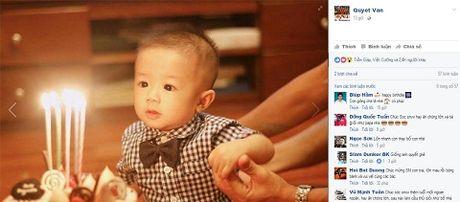 Van Quyet sinh nhat truc tuyen voi con trai, Nguyen Manh khoe anh con gai - Anh 1