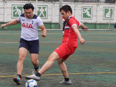 Khai mac giai bong da quan Hoan Kiem lan thu III nam 2016 - Anh 10