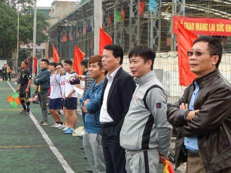 Khai mac giai bong da quan Hoan Kiem lan thu III nam 2016 - Anh 7