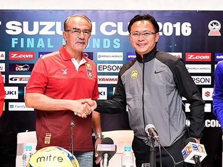 HLV Myanmar muon thang, HLV Huu Thang khen ngoi Campuchia - Anh 1
