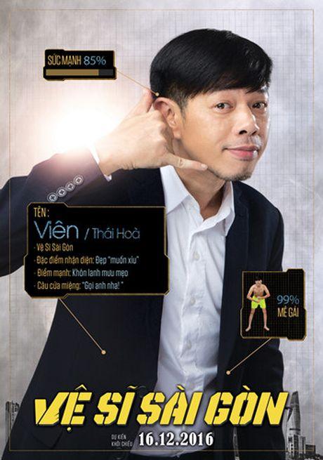 Hinh anh hai huoc cua Kim Ly, Chi Pu trong poster 'Ve si Sai Gon' - Anh 3