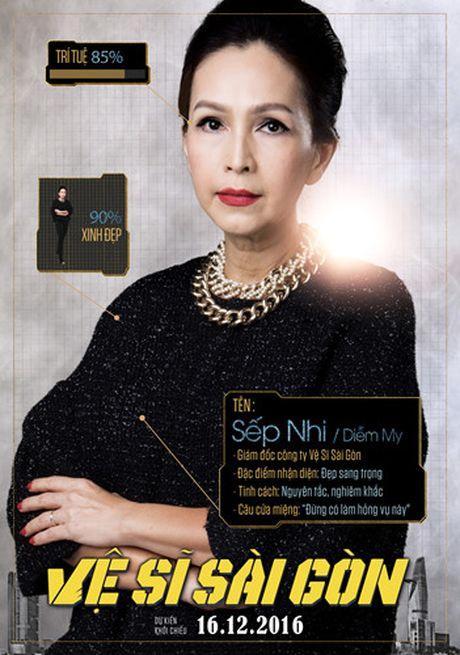 Hinh anh hai huoc cua Kim Ly, Chi Pu trong poster 'Ve si Sai Gon' - Anh 7