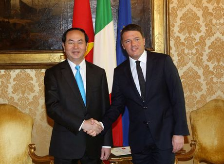 Toan canh: Chu tich nuoc tham chinh thuc Italy va Toa thanh Vatican - Anh 13