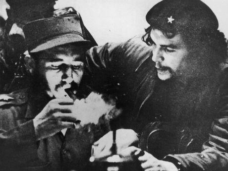 Cuoc doi lanh tu Cuba Fidel Castro qua anh - Anh 4