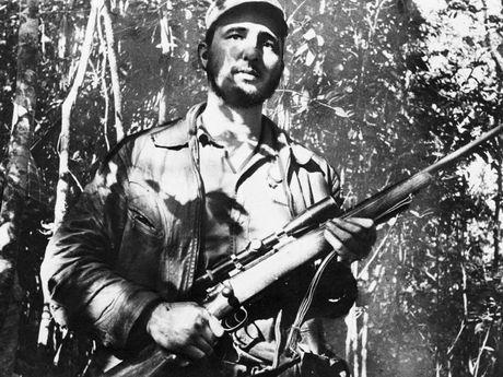 Cuoc doi lanh tu Cuba Fidel Castro qua anh - Anh 5