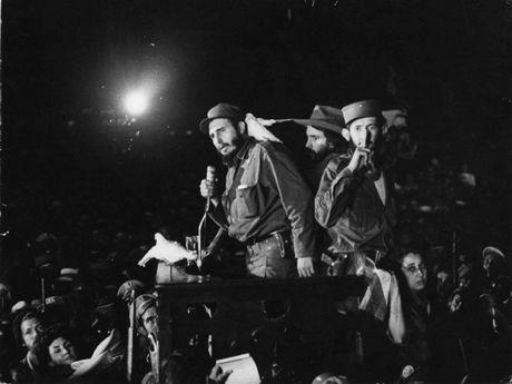 Cuoc doi lanh tu Cuba Fidel Castro qua anh - Anh 7