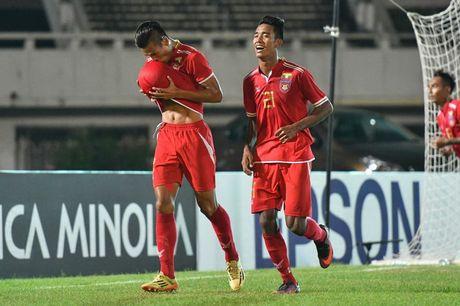 Myanmar gianh ve vao ban ket AFF Cup sau tran cau 'sinh tu' - Anh 1
