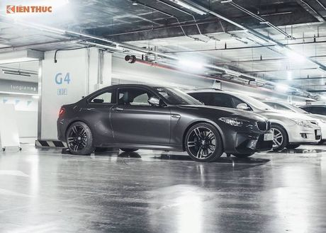 Can canh BMW M2 gia gan 3 ty dau tien tai Ha Noi - Anh 1