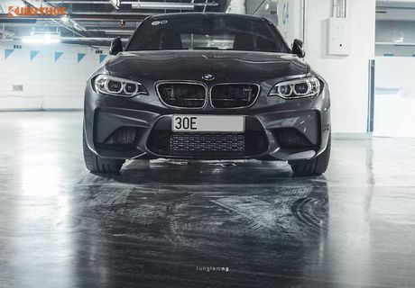 Can canh BMW M2 gia gan 3 ty dau tien tai Ha Noi - Anh 3