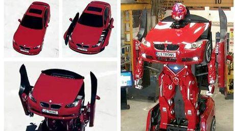 BMW 3-Series bien hinh ro bot Transformer gia 13 ty - Anh 1
