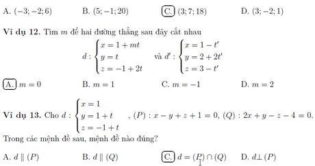 Day phuong phap toa do khong gian theo huong thi trac nghiem - Anh 15