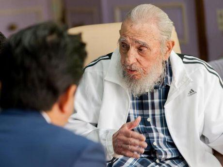 Lanh tu Cuba Fidel Castro tu tran o tuoi 90 - Anh 1