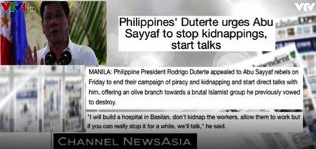 Tong thong Philippines hoi thuc nhom Abu Sayyaf dung chien dich cuop bien - Anh 1