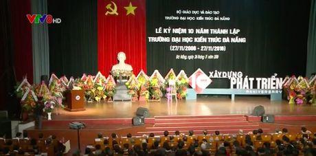 Truong DH Kien truc Da Nang ky niem 10 nam thanh lap - Anh 1