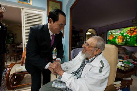 Vinh biet cuu Chu tich Cuba Fidel Castro! - Anh 1
